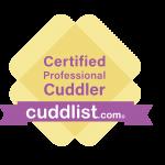 Professional cuddling logo